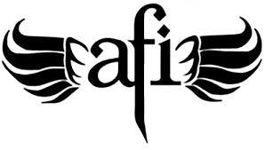 Afi Wings Logo Vinyl Decal Sticker