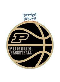 Purdue Basketball Decal Purdue Car Accessories Purdue Team Store