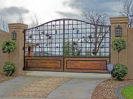 Wrought Iron Gates Courtyard Gate Design Wrought Iron Entry Gate Driveway Gates Inland Empire Corona Riverside Eastvale Lake Elsinore Elite Landscape Concrete