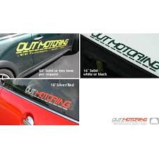 Outmotoring Com Outmotoring Mini Cooper Stickers Mini Cooper Accessories Mini Cooper Parts