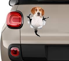 Beagle Dog Car Stickers Beagle Stickers Stickers Beagle Dog Etsy