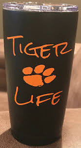Tiger Life Yeti Rtic Yeti Rambler Tumbler Coffee Mug Window Car Wall Decal Ebay
