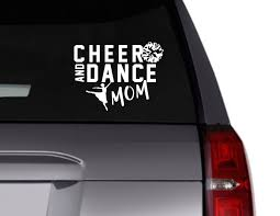 Cheer And Dance Mom Vinyl Decal Cheer Decal Dance Decal Etsy In 2020 Vinyl Decals Dance Moms Sports Vinyl Decals
