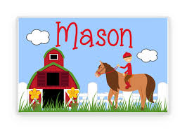 placemat kids personalized place mat