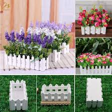 Flower Plant Pot Wooden Window Box Garden Decking Boards Trough Fence Decor Shopee Philippines