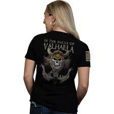 Nine Line Nine Line Apparel Women S Valhalla Relaxed Fit Short Sleeve T Shirt Walmart Com Walmart Com