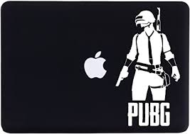 Amazon Com Vinyl Sticker Pubg Playerunknowns Battlegrounds Compatible With Pc Car Glass Walls 4 Inches Black Office Products