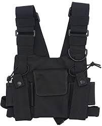 goodq universal radio harness chest