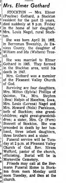 The daughter of Ida Virginia Walters Troxell and William Troxell, 1967 -  Newspapers.com