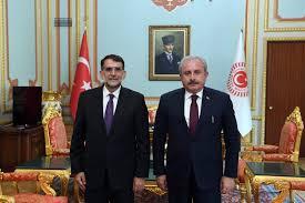 TIMEBALKAN | TBMM Başkanı Şentop, Anayasa Mahkemesi Başkanı Murat'ı kabul  etti