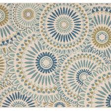 outdoor rug blue green area rugs