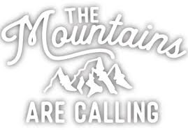 Stickers Northwest Mountain Are Calling Sticker Rei Co Op