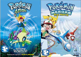 Forever Pokémon DVD 2 Pack Heroes the Movie + 4Ever join forces ...