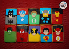 Mas Superheroes Planeta Cookie