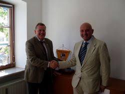 New FIBT President Ferriani visits FIL Office