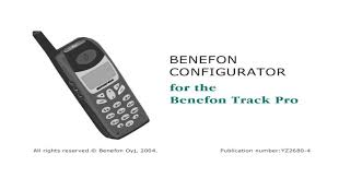 Benefon Configurator for the Track Pro