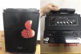 Loa kéo KARAOKE di động Q8 2 tấc 01 mic (Mã SP: LOA Q8) - Giá tháng 9/2020