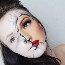 15 easy halloween face makeup ideas
