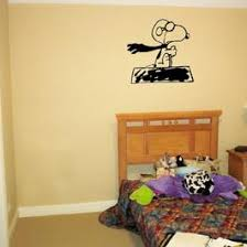 Snoopy Wwi Flying Ace From Charlie Brown Peanuts Vinyl Wall Art Decal