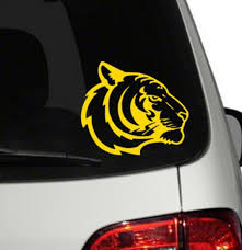 6 Bengal Tiger Vinyl Decal Sticker Etsy