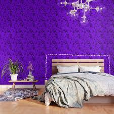doodles in dark purple