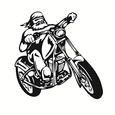 Sticker Car Motorcycle Helmet Decal Vinyl Chopper Biker Skull Lady Black Archives Midweek Com
