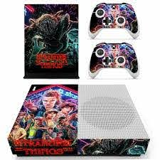 Stranger Things Skin Sticker Decal For Xbox One S Console And Controllers For Xbox One Slim Skin Stickers Vinyl Consoleskins Co