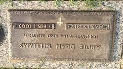 Photos of Addie Dean Williams - Find A Grave Memorial