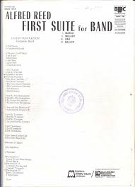 Reed First Suite for Band