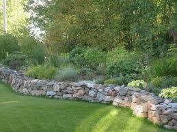 stone walls garden