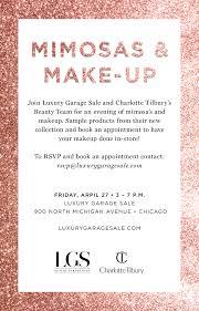 make up with luxury garage