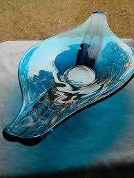epic oval deep console bowl bluenique