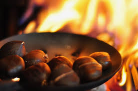Image result for chestnuts roasting""