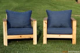 two diy outdoor chair projects for your