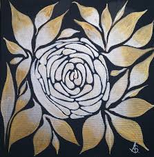 Pearl Rose Painting by Adrian Stevens