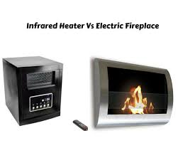 electric fireplace vs infrared heater