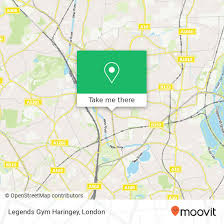 how to get to legends gym haringey