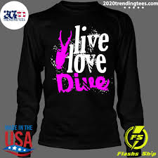 live love dive springboard diving gift