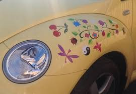 Cherry Car Sticker