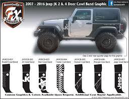Jeep Wrangler Jk Streetgrafx