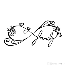 2020 For Infinity Family Decal Car Window Sticker Wall Vinyl Art Funny Car Styling Accessories Decorate Graphics From Xymy777 0 92 Dhgate Com
