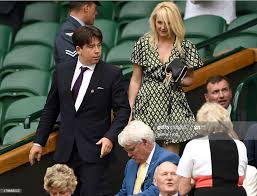 Michael McIntyre and wife Kitty attend ...