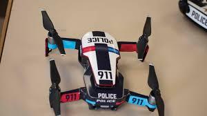 Dji Mavic Air Skin Decal Police Interceptor