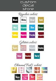 Custom Text Personalised Name Decal Yeti Laptop Car Window Shop Glitter Sticker 1 99 Picclick