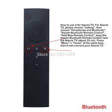New Replaced Bluetooth 4.0 Remote Control fit for MI Xiaomi TV Box 3 3c 3s  3pro|Remote Controls