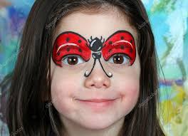 ladybug face makeup pretty with