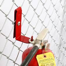 Fire Extinguisher Fence Bracket Signs Sku Fence Fxb
