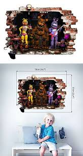 Infans Fnaf Five Nights At Freddy S Wall Decal Art Decor For Boys Girls Bedroom Vinyl Wall Stickers Mural Size 57x78cm Decal Wall Art Wall Stickers Murals Art Decor
