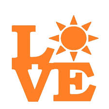 Love Sun Sticker Car Window Cruise Ship Tanning Bed Sea Beach Ocean Lotion Vinyl Decal Sun Us Independence Day Car Styling New Wish
