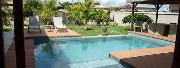 echange villa avec piscine à l Île